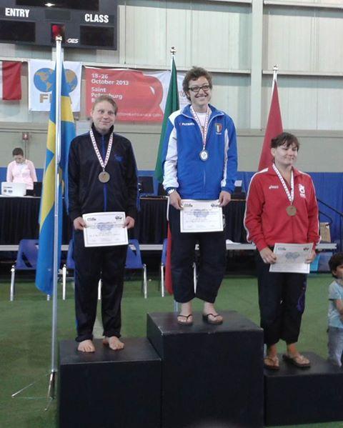 Baraccani medaglia doro mondiale Canada giugno 2013