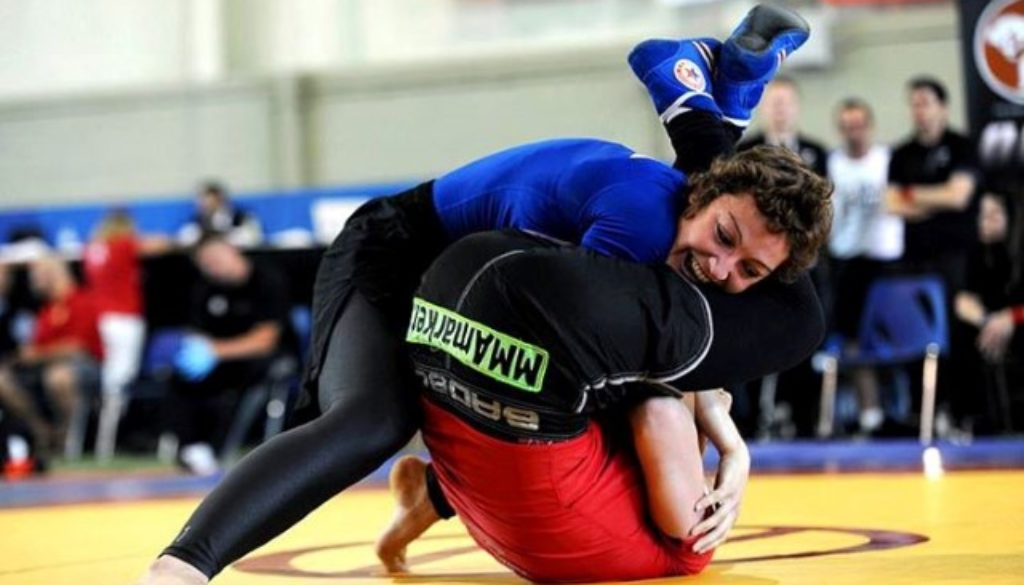 Martina in azione Canada 2013 Grappling Custom