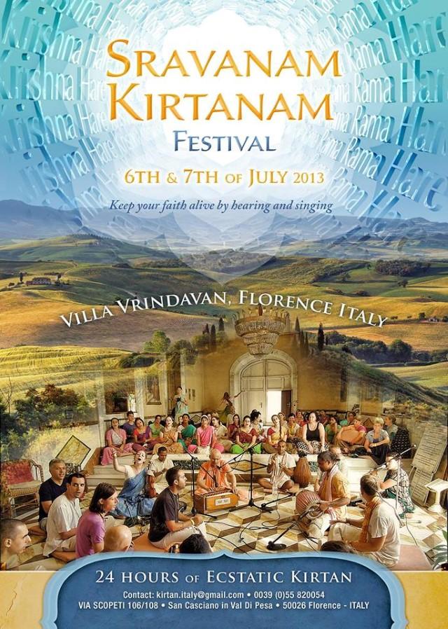 Shravanam kirtanam Custom