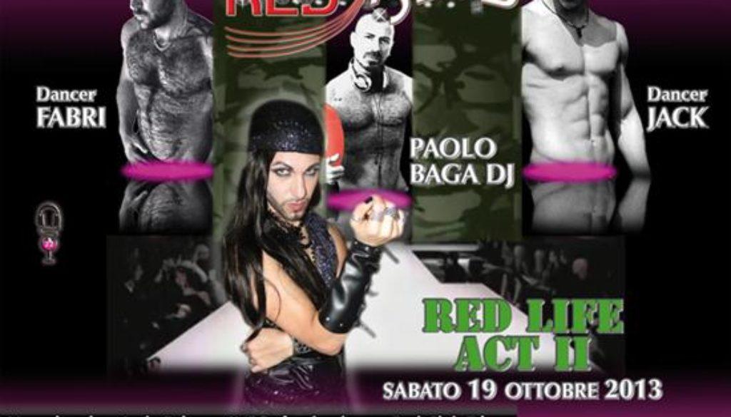 flyer red club 19ott2013 Custom