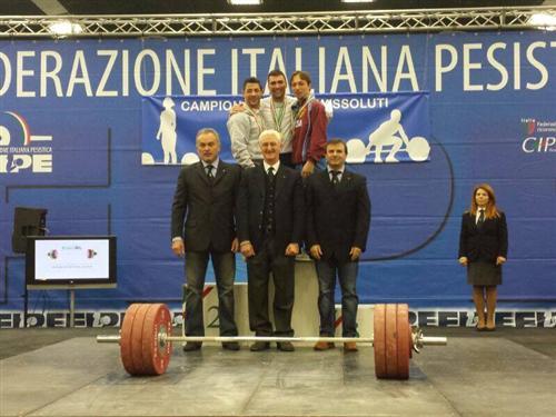 Bombaci campionati italiani assoluti primo nello slancio Custom