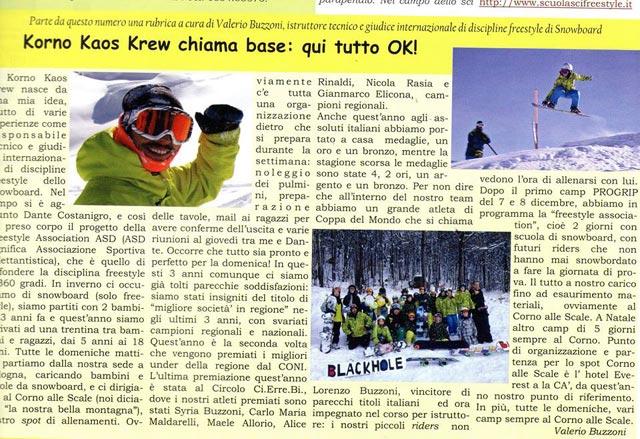 articolo snowboard