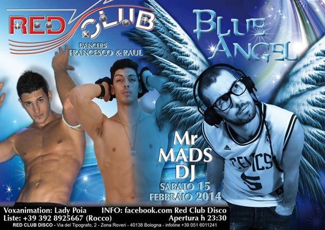 flyer red club 640