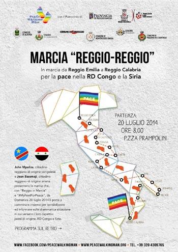 volantino marcia-Reggio 300