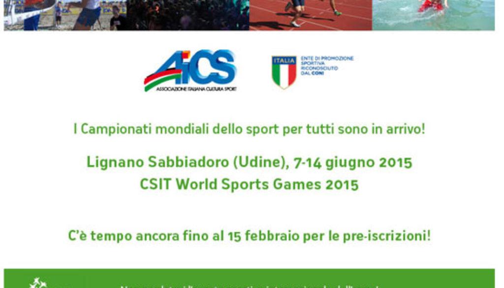 campionati mondiali sport 5