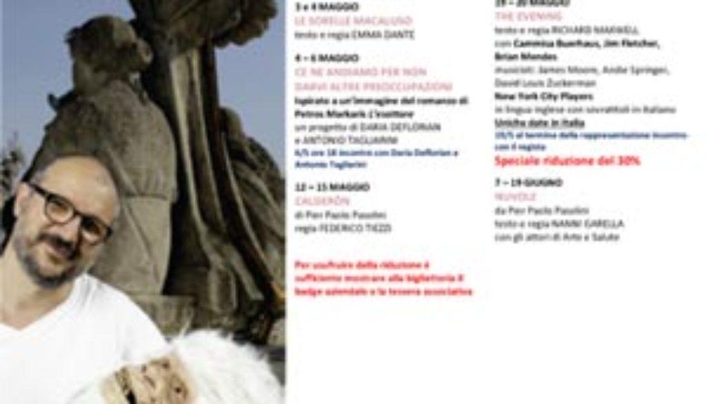 SPETTACOLI--MAGGIO-TEv 300