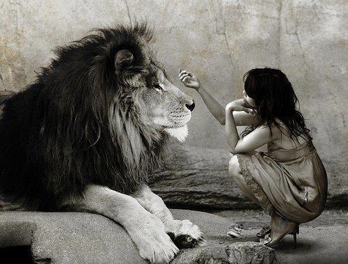 leone bambina