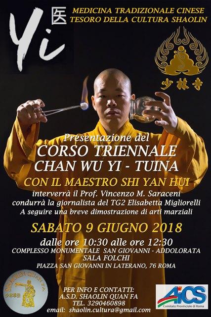 corso triennale Shaolin