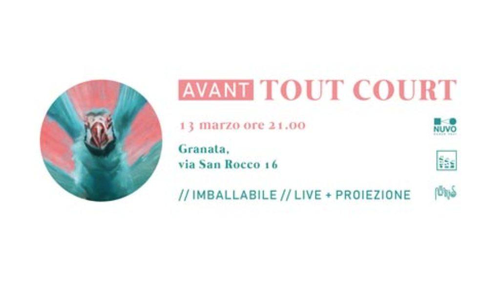 AVANT Tout court a granata 13 03 2019