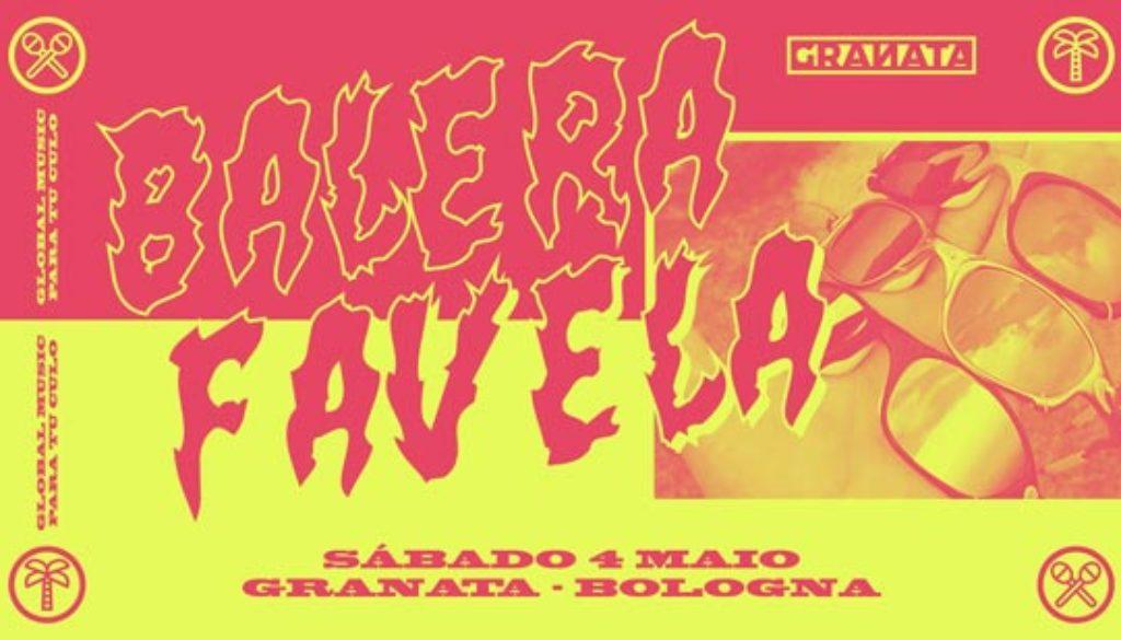 Balera Favela a granata 4 05 2019