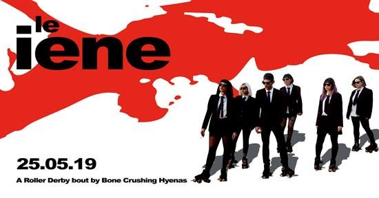 LE IENE: A Roller derby bout by Bone-Crushing Hyenas