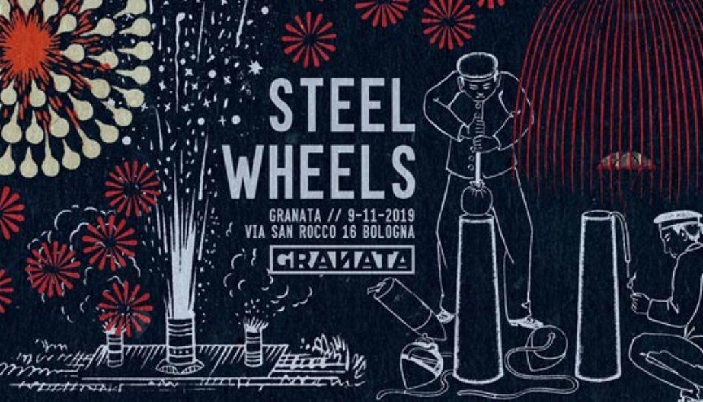 Steel Wheels a Granata