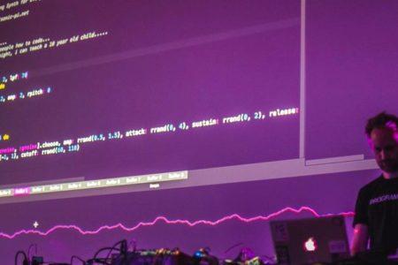 Sam Aaron live coding