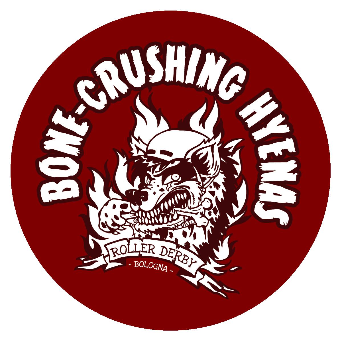 Bone crushing hyenas