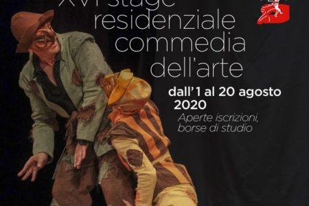 XVI Stage residenziale Commedia dell'arte