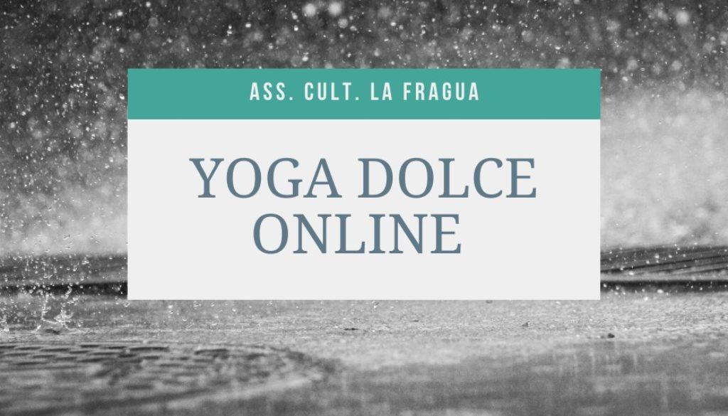 yoga dolce la fragua
