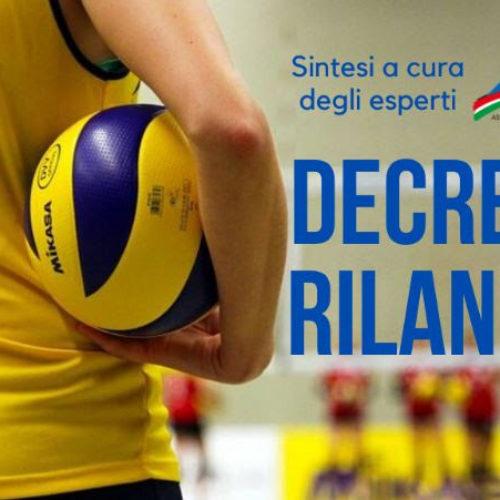 """DECRETO """"RILANCIO"""""""
