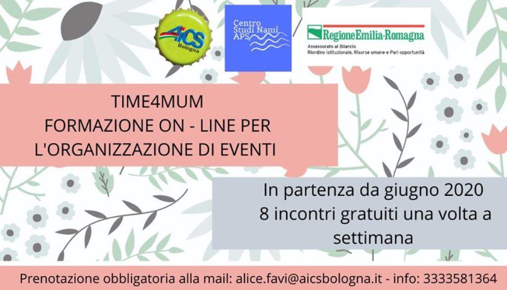 locandina banner time4mum