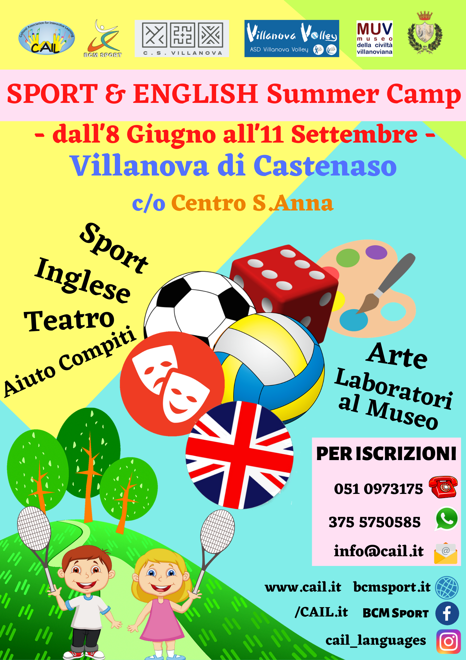 Locandina-Sport-English-Summer-Camp-Villanova-2020