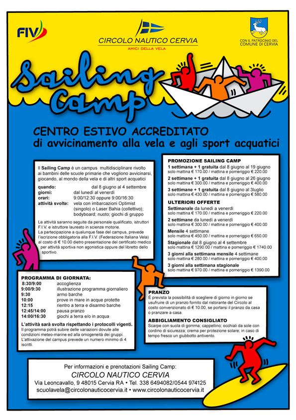 SailingCampLocandina
