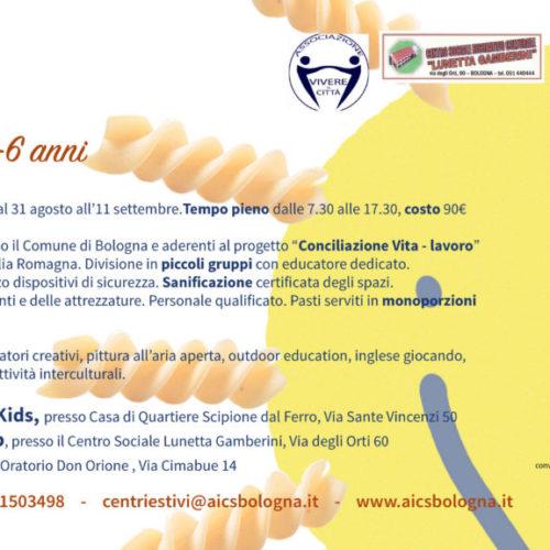 CENTRI ESTIVI 3-6 ANNI