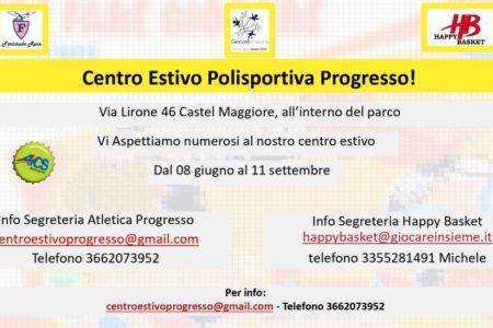 Centro estivo Polisportiva Progresso