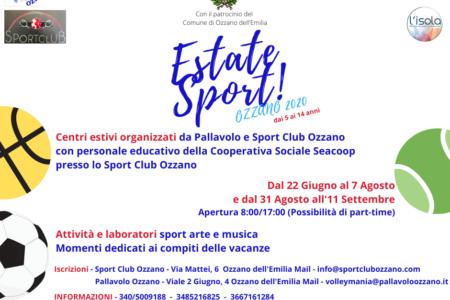 Estate Sport! Ozzano 2020