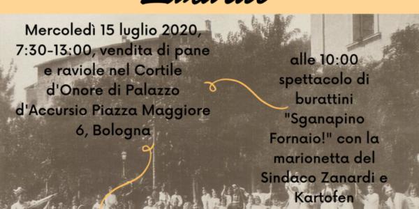 Il Pane del Sindaco Zanardi – 15 luglio 2020