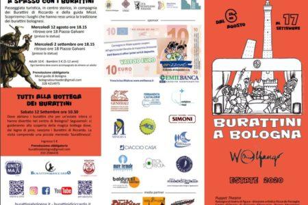 Burattini a Bologna – Estate 2020