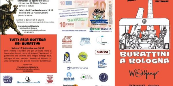 Burattini a Bologna – Estate 2020