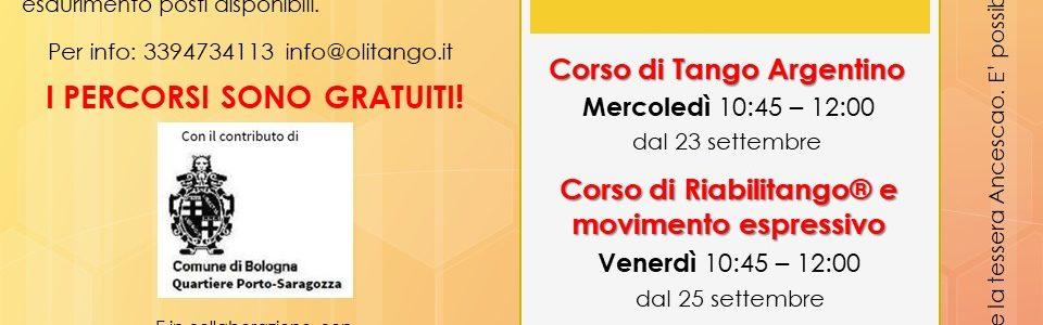 LiberiAmo movimento e creatività: incontri di Tango, Riabilitango® e movimento espressivo per Over 60