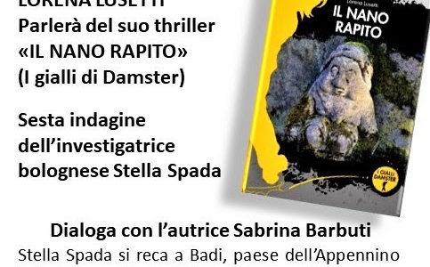 """Lorena Lusetti presenta il suo libro """"Il nano rapito"""""""