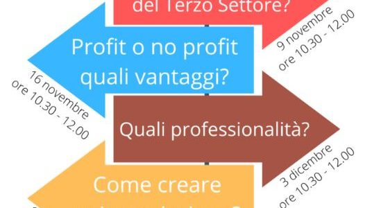 """Percorso formativo on line """"Associazionismo e opportunità"""""""