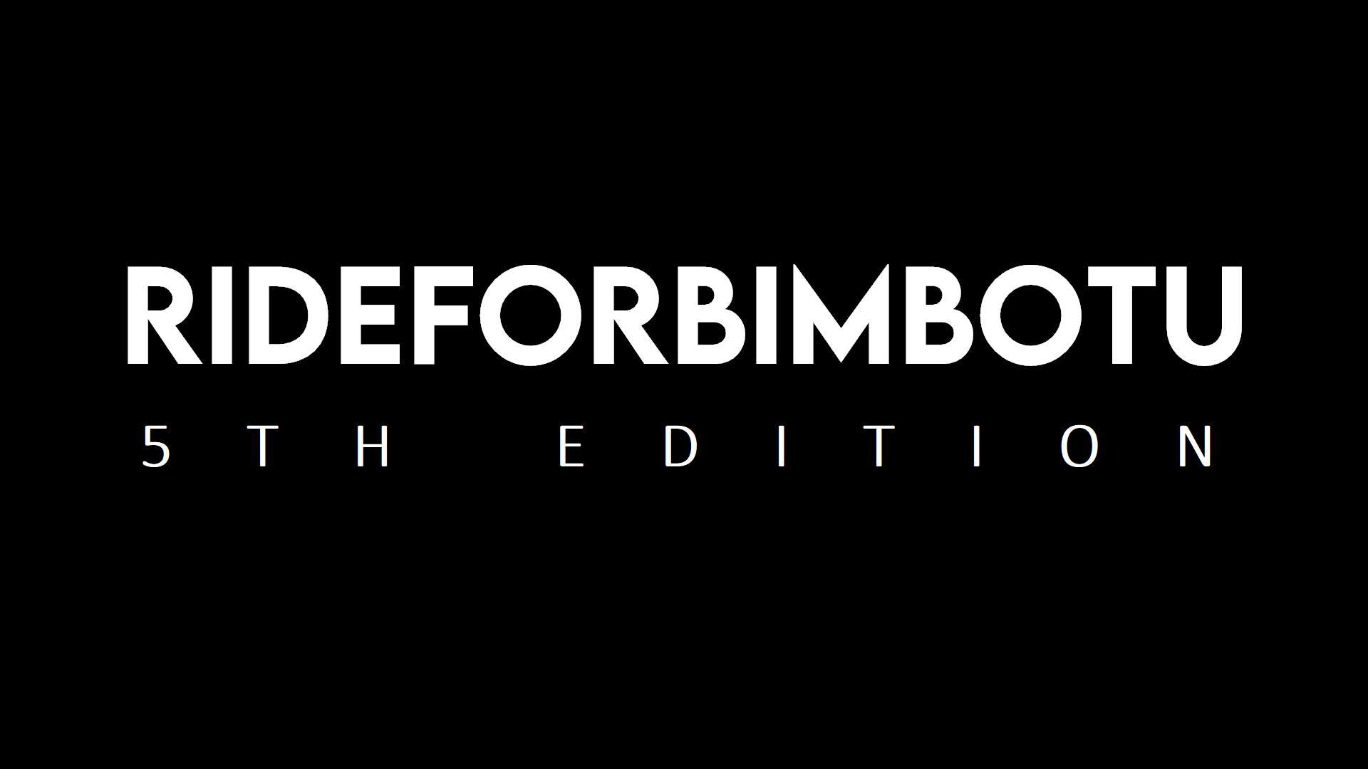RIDE FOR BIMBO