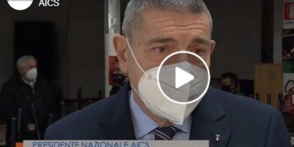 Intervento del Presidente Bruno Molea nel servizio del TgR