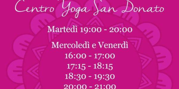 Lezioni online di Centro Yoga San Donato