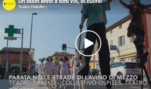 Video di auguri di Buon Anno del Teatro Ridotto
