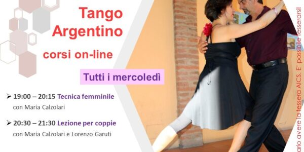 I mercoledì del TANGO ON-LINE con Asd OliTango
