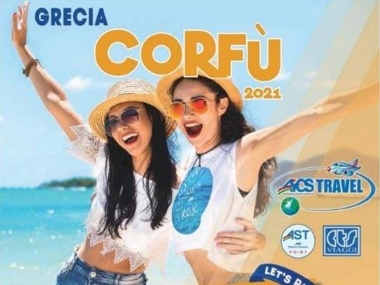 corfu aics travel