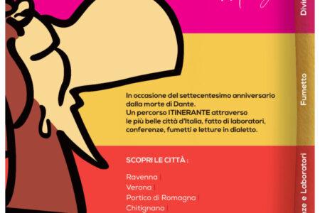 DANTE UOMO: L'AMORE, LE GUERRE E LA COMMEDIA NEI DIALETTI ITALIANI