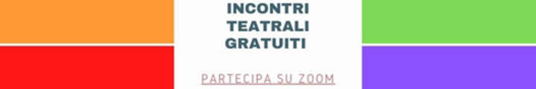 Incontri teatrali gratuiti con Tomax Teatro