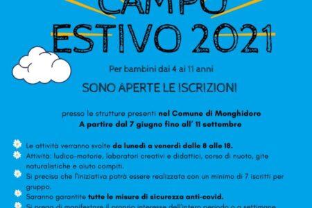 Campo estivo Monghidoro 2021
