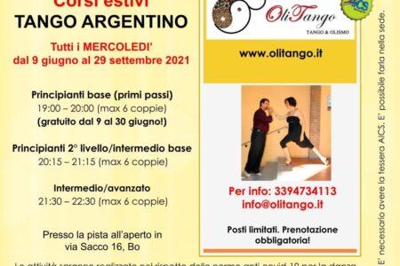 Corsi estivi di Tango Argentino