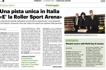 Una pista unica in Italia: la roller sport arena
