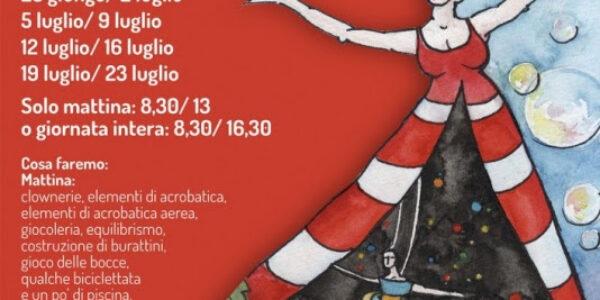 #GIOCACIRCUS! il centro estivo del Wanda Circus