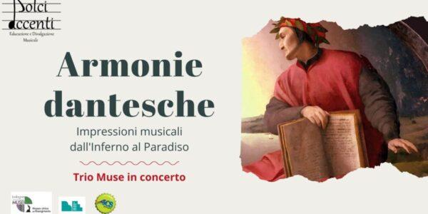 Armonie dantesche: Trio Muse in concerto