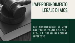 l'approfondimento legale di Aics