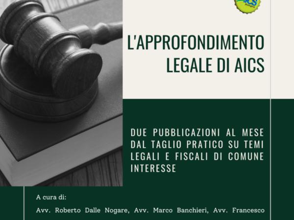 L'APPROFONDIMENTO LEGALE DI AICS: Il Voucher in 5 mosse
