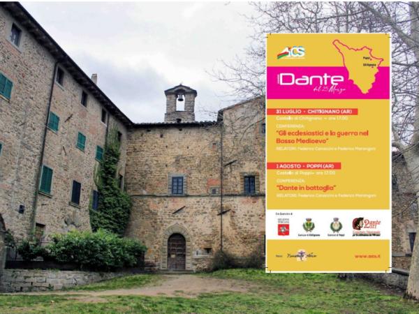 Il Dante Tour di Aics approda in Toscana
