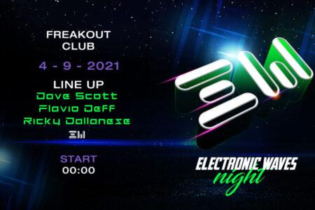 Electronic Waves Night